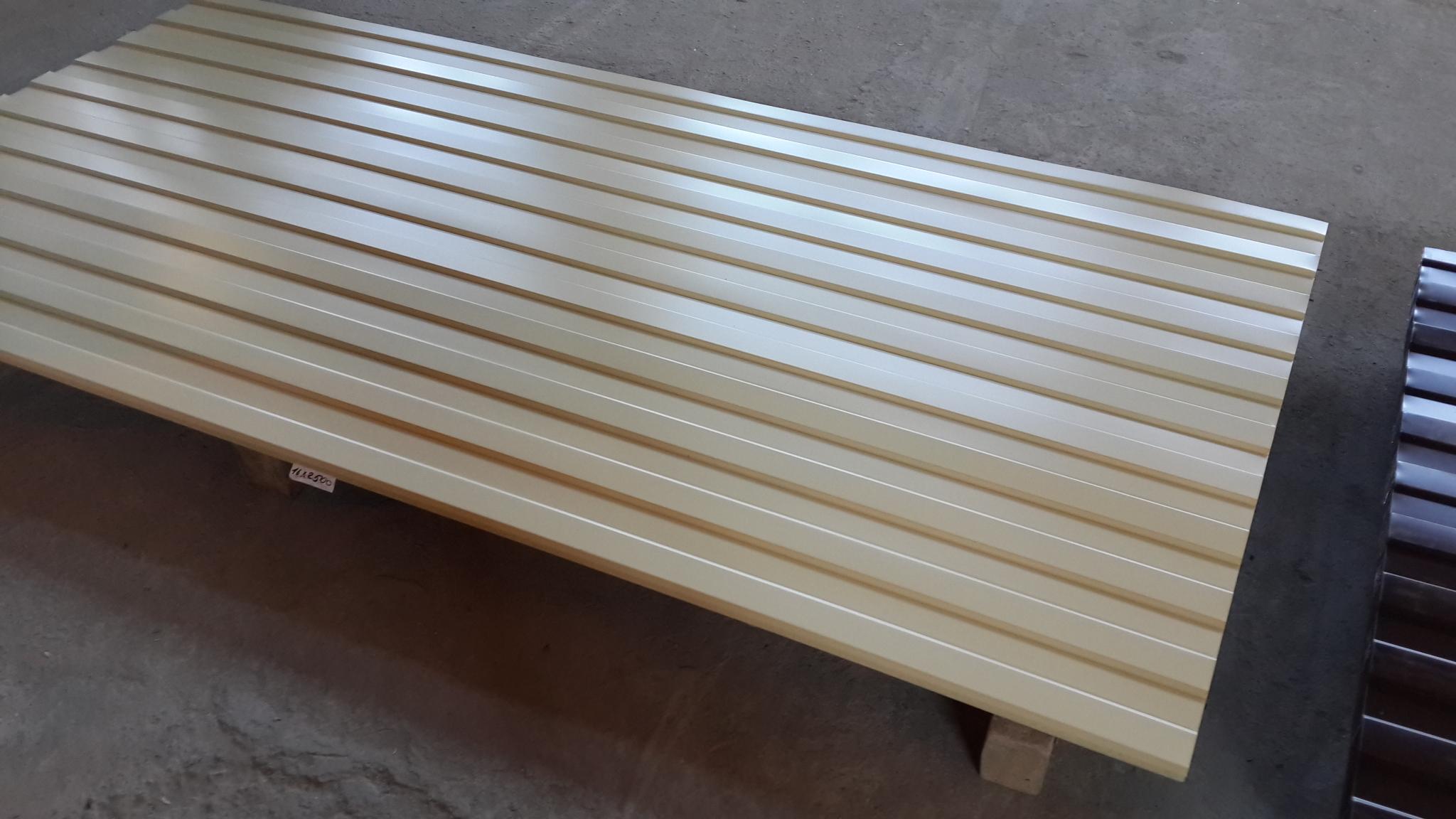 Полимерный профнастил С8 0,35*1200 мм