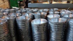 Ведро металлическое техническое 12 литров