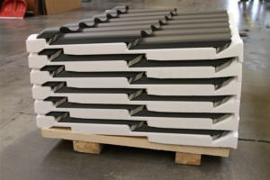 хранение и упаковка металлочерепицы