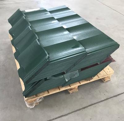 упаковка и хранение металлочерепицы